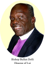 Bishop Bullen Dolli of Diocese of Lui